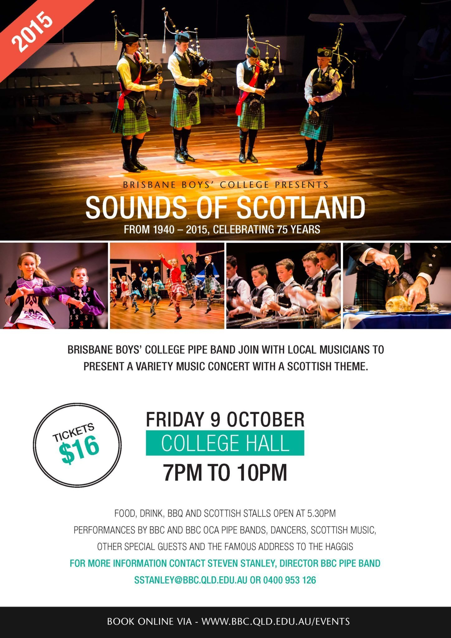 Sounds of Scotland Flyer